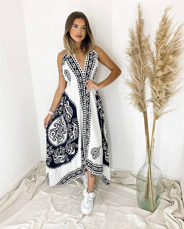 Vestido longo Indiano