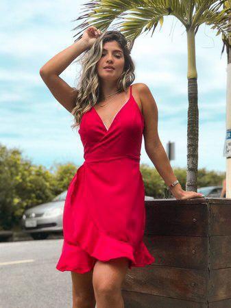 Vestido transpassado - Nicolly