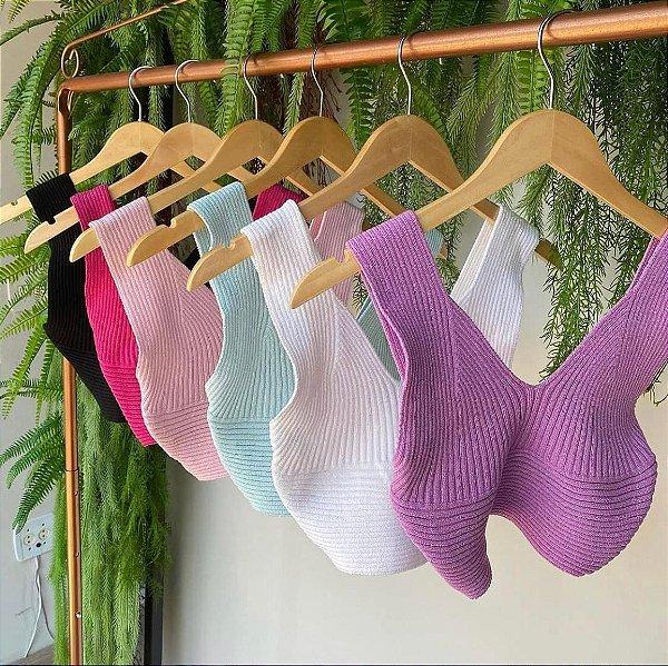 Cropped de tricô - Multi formas