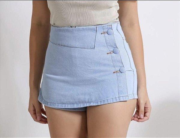 Short Saia Jeans - Helen