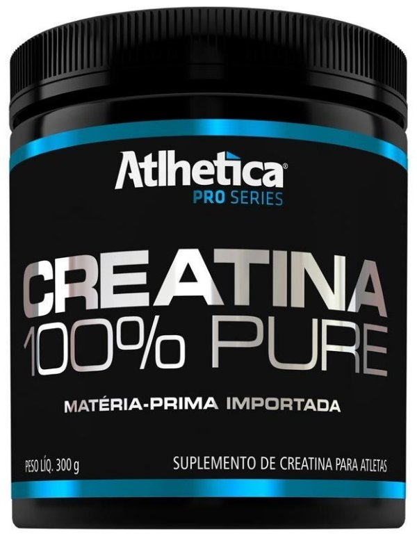 Creatina 100% Pure 300g Atlhetica Nutrition