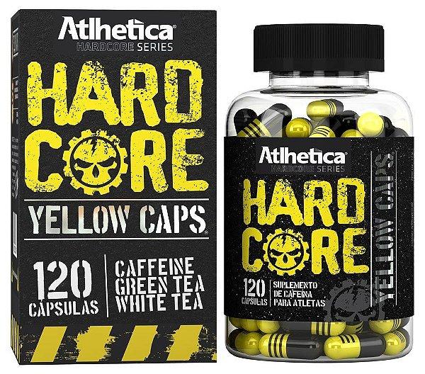 Hardcore Yellow Caps 120caps