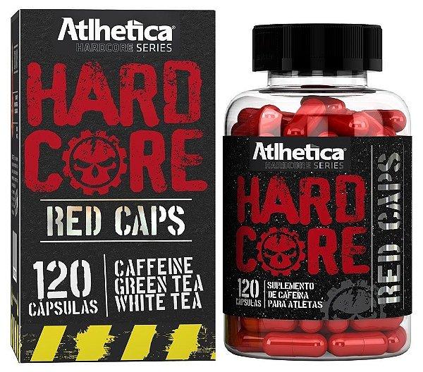 Hardcore Red Caps - 120 caps
