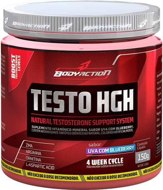 Testo HGH 150G BodyAction - Guaraná com Açaí