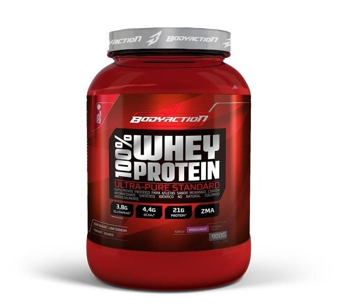 100% Whey Protein 900g BodyAction