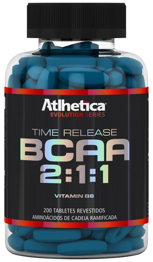 BCAA 2:1:1 Time release 200 Tabletes