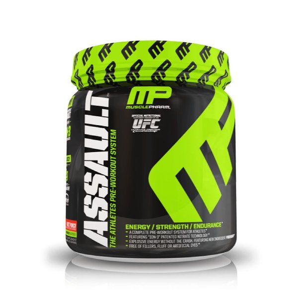 Assault Muscle Pharm Fruit Punch 20 doses