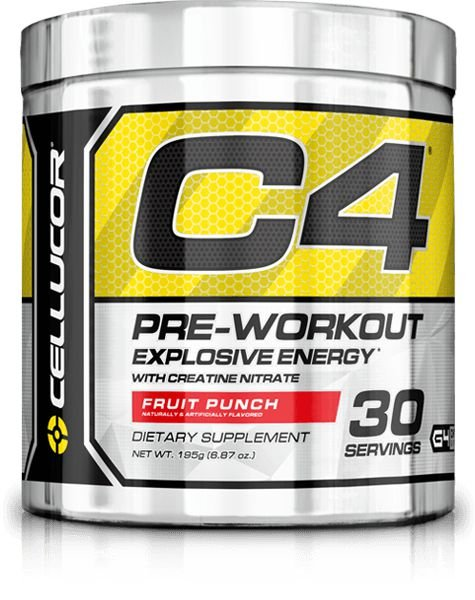 C4 Fórmula Antiga Cellucor 30 doses