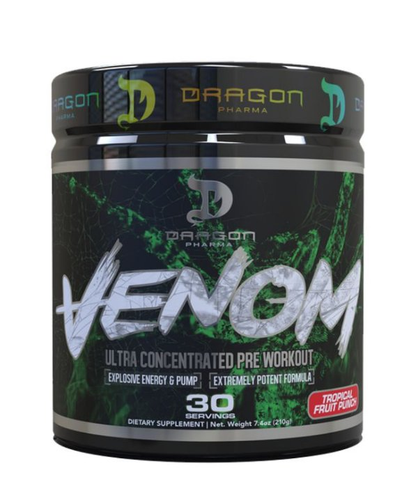 Venom Dragon Pharma Pré Treino com DMAA