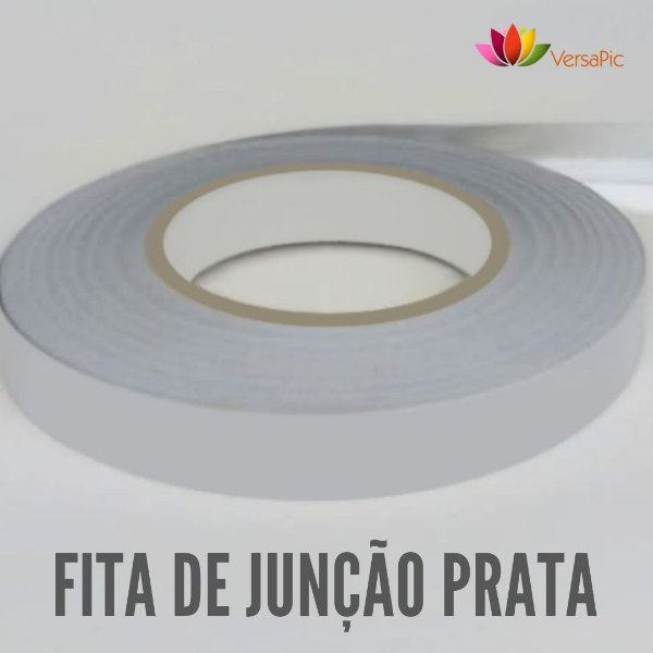 Fita de Junção VersaPic Prateada 18mm x 50m