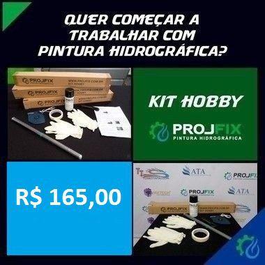 Kit Hobby PROJFIX - MIX c/ 3 PELÍCULAS - Carbono - Madeira - Design