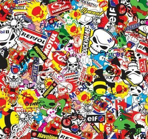 Película - Sticker Bomb - SB001