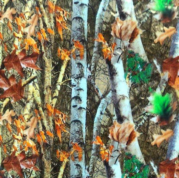 Película - Camuflado Árvore e Folhas - AF787