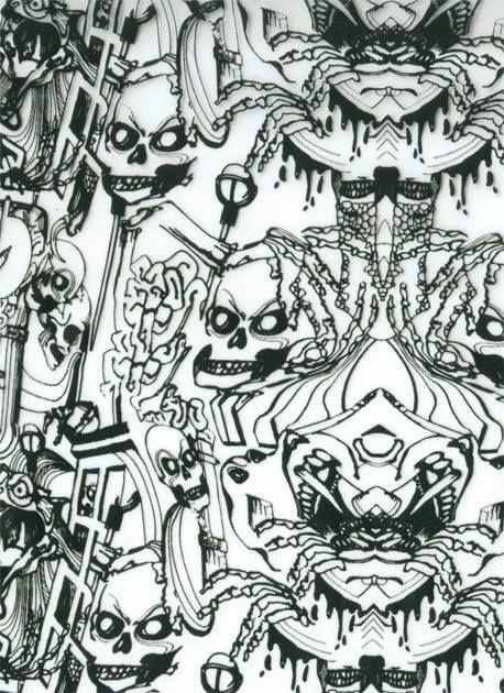 Película - Caveira Riscada - SK001
