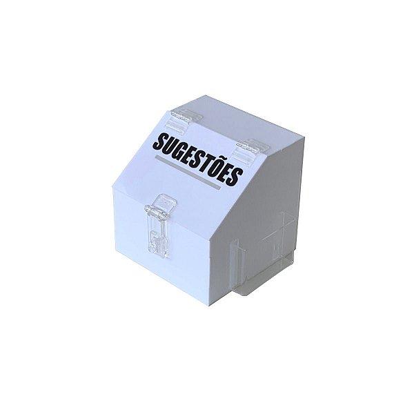 Mini caixa de sugestões - Branca