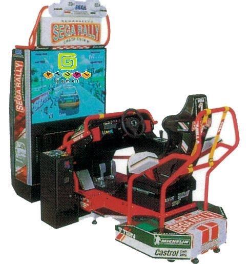 Simulador de Corrida Sega Rally 2