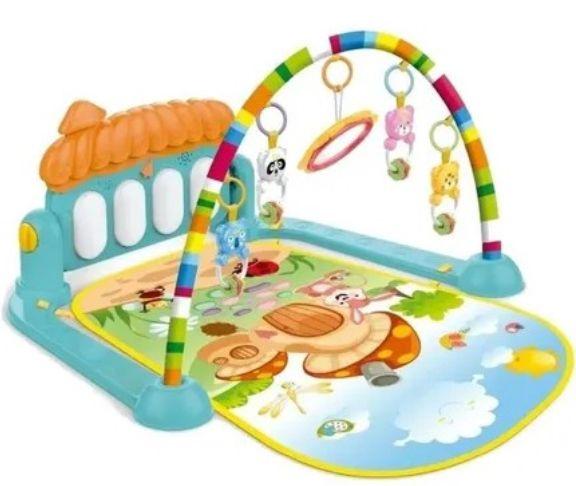 Tapete Infantil De Atividades Piano Mobile Musical