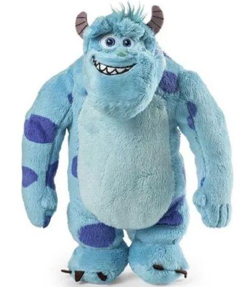 Bichinho de Pelúcia Disney Monstros SA Sulley 30cm Com Som