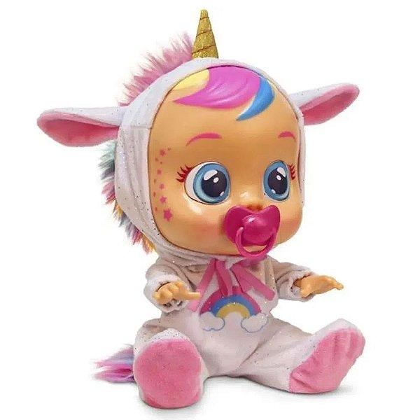 Boneca Cry Babies Dreamy Chora De Verdade Multikids Br-1029 - Multilaser