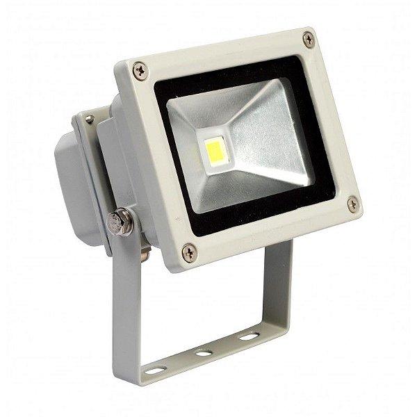 Refletor Holofote 10w Led Bivolt E Prova D'agua