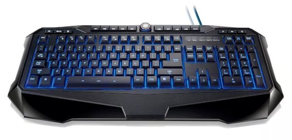 Teclado Gamer Multimídia Multilaser Usb 3 Cores Led Tc167
