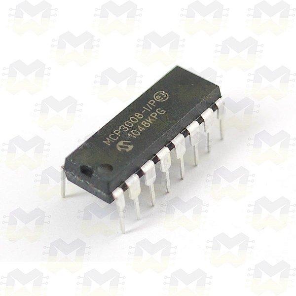 MCP3008 Conversor Expansor ADC de 10 Bits