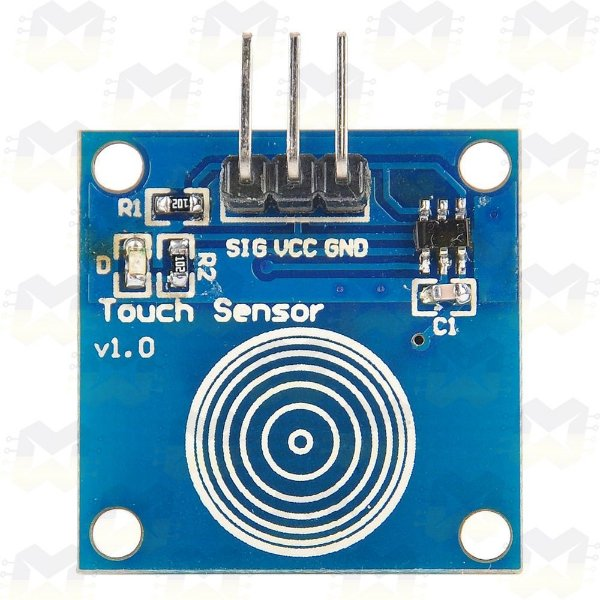 Sensor Capacitivo Touch (Toque) TTP223B