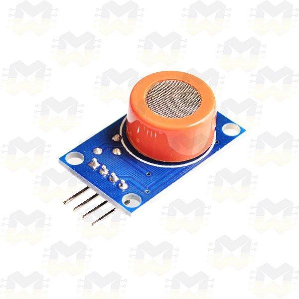 Sensor (Detector) de Álcool / Etanol - MQ-3