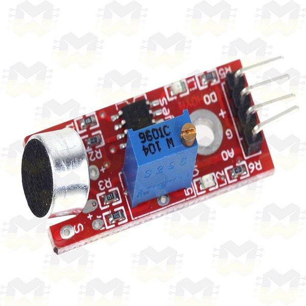 Sensor (Detector) de Som - KY-038