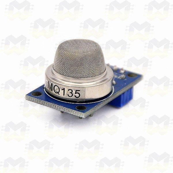 Sensor (Detector) de Qualidade do Ar - MQ-135
