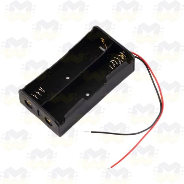 Suporte Porta 2 Baterias 18650