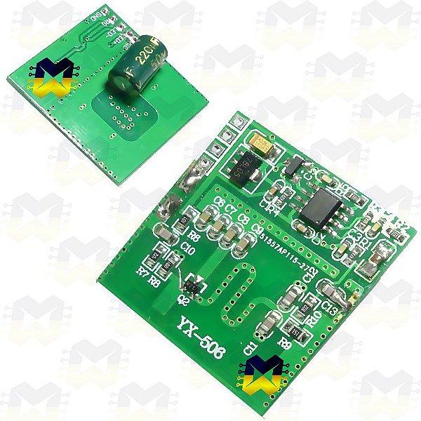 Módulo Sensor Microondas (Detector) de Movimento YX-506