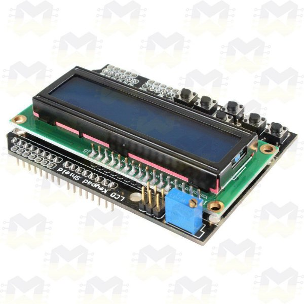 Display LCD 16X2 Shield com Teclado