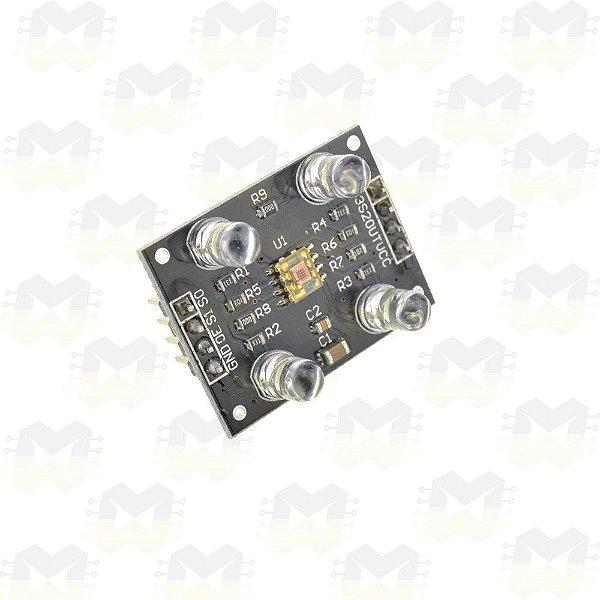 Sensor de Cor TCS230 (TCS3200)