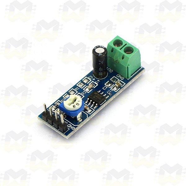 Módulo Amplificador de Áudio - LM386