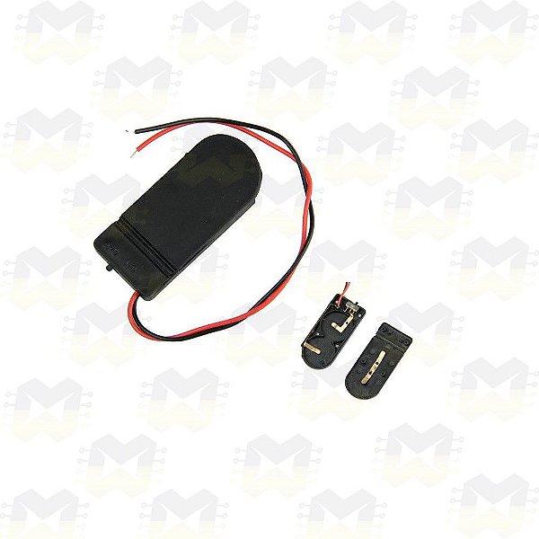 Suporte com Chave para 2 Baterias CR2032