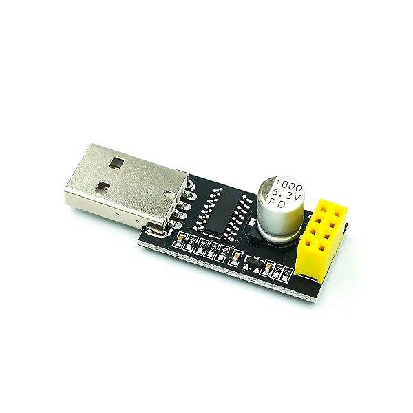 Adaptador USB Serial para WiFi ESP8266 ESP-01
