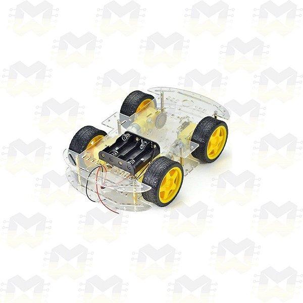 KIT Chassi 4WD Robô / Robótica