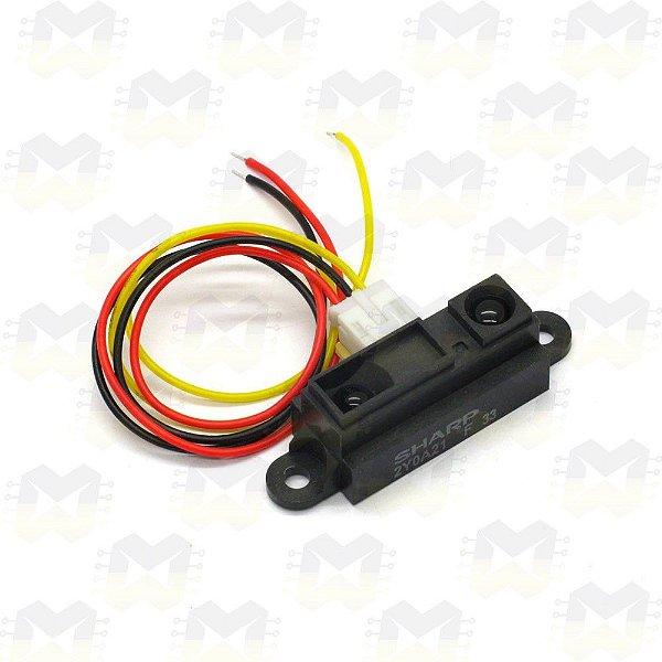 Sensor Infravermelho de Longo Alcance Sharp GP2Y0A21YK0F