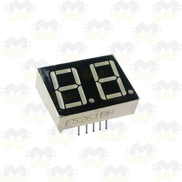 Display de 7 Segmentos 2 Dígitos
