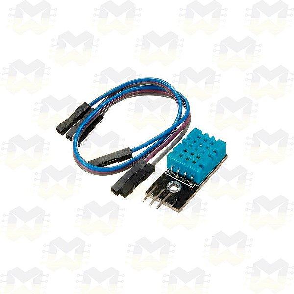 Módulo Sensor de Umidade e Temperatura - DHT11