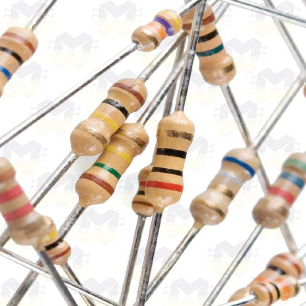 Resistor de 10M CR25 5% 1/4W - (10 unidades)