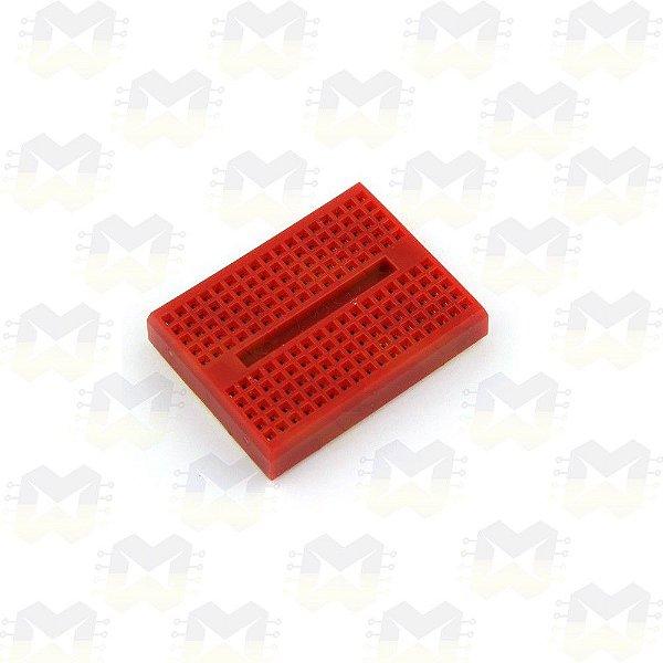 Protoboard Vermelha de 170 Pontos