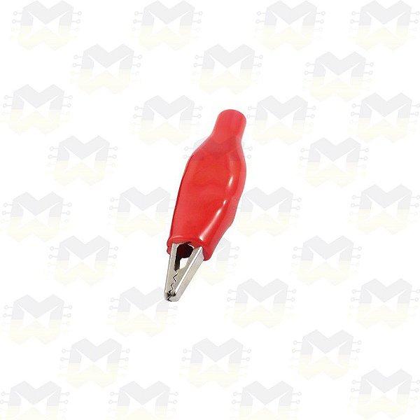 Garra Jacaré 28MM Vermelha