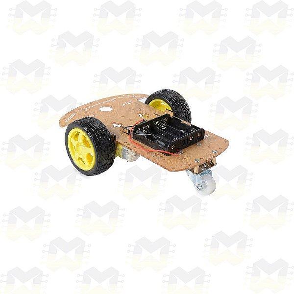 KIT Chassi 2WD Robô / Robótica