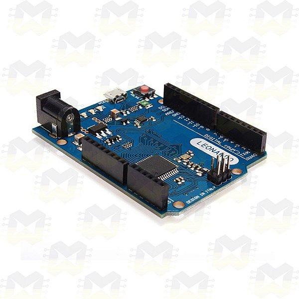 Arduino Leonardo R3 com Cabo Micro USB