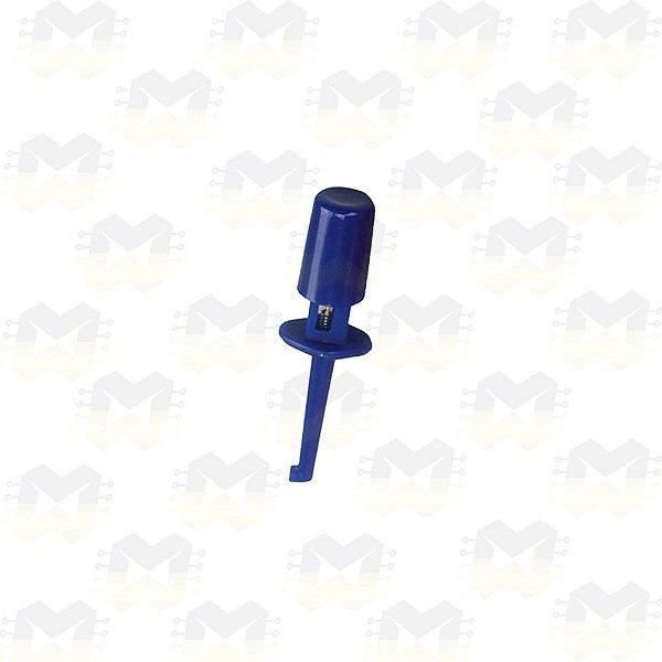 Ponta de Prova Tipo Gancho - Azul