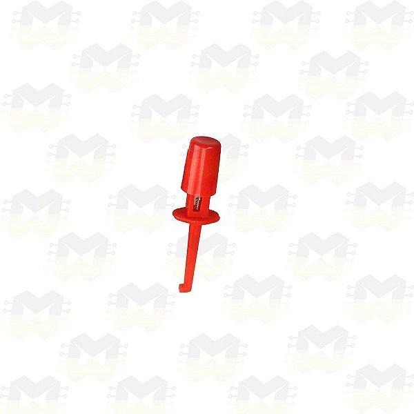 Ponta de Prova Tipo Gancho - Vermelha