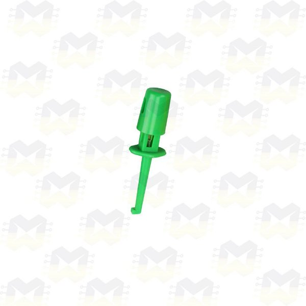 Ponta de Prova Tipo Gancho - Verde