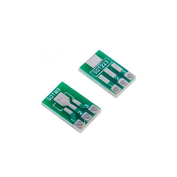 Adaptador SOT223 / SOT89 SMD para SIP3